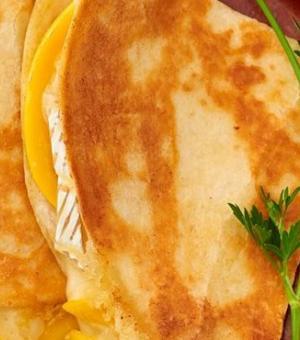 Mango and Brie Quesadilla