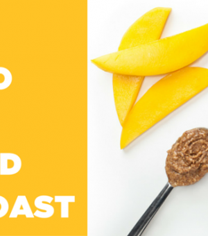 Mango & Almond Butter Toast