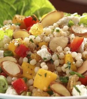 Mango and Almond Couscous Salad